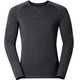 Odlo M's Revolution Warm L/S Crew Neck Black Melange